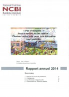 thumbnail of rapport annuel_NCBI_2014